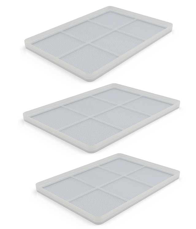VRE's Medical Grade Drying Trays
