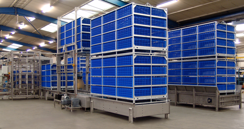 Agriculture Poultry Factory Easyload System