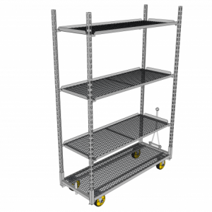 Hook In Shelf Type Transportation Carts