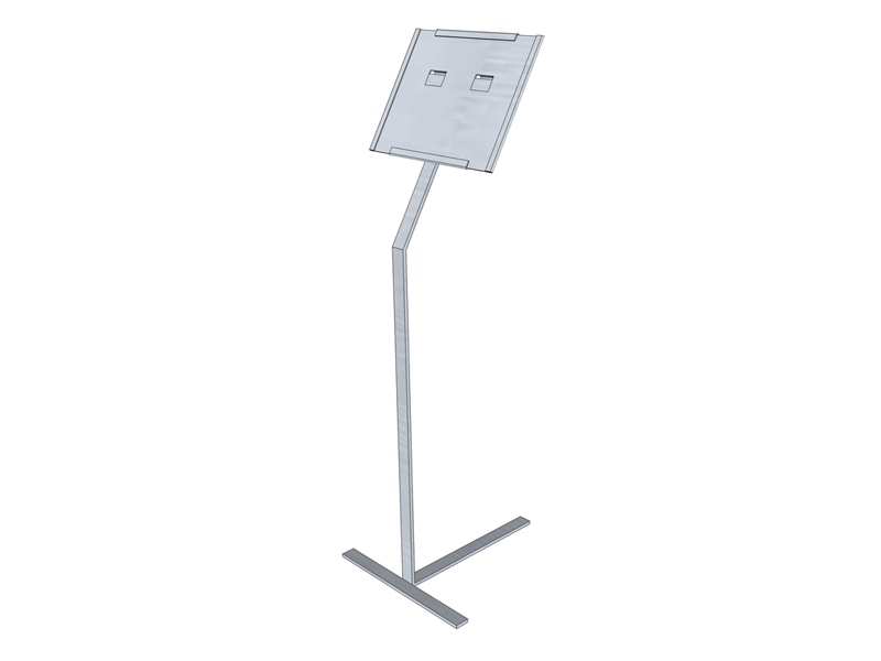 Retail Clip On Sign Holder Stand